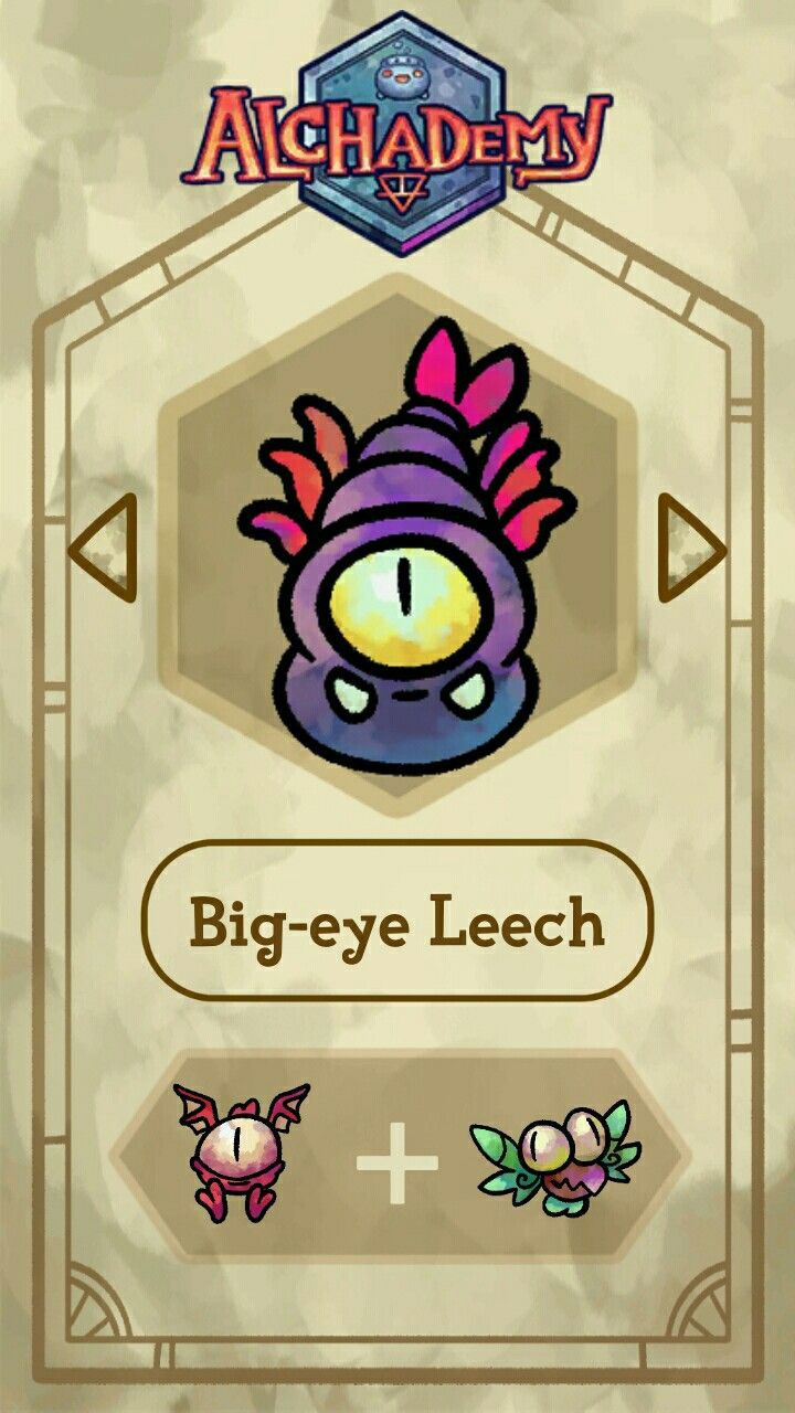 Big-eye Leech