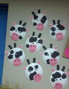 How Cute Are These Paper Plate Cow Crafts Go To This Link And Youll Find Other COW