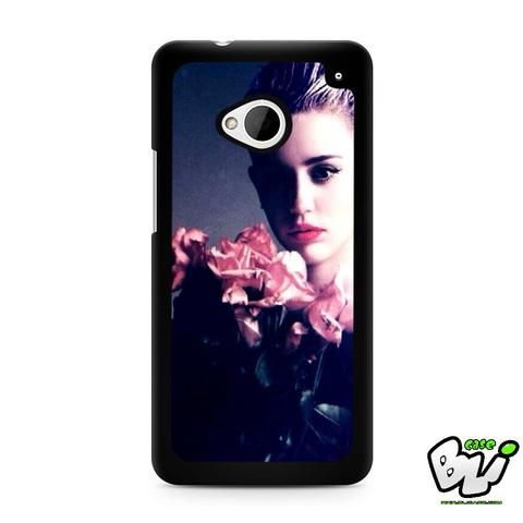 Miley Cyrus Pink Flower Rose HTC G21,HTC ONE X,HTC ONE S,HTC M7,M8,M8 Mini,M9,M9 Plus,HTC Desire Case