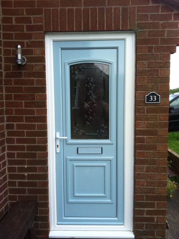 Upvc front door 2k car paint using air compressor for Upvc front door 78 x 30