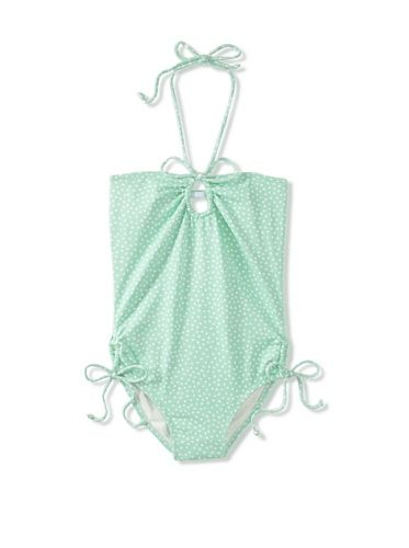 73% OFF Eberjey Mini Girl's Grace Confetti Girl Swimsuit (Jade)