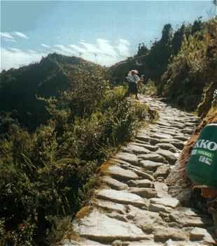 Informationen über den Inka-Trail in Peru, Bergwandern zum Machu Pichu Bergwandern auf dem Inka-Trail in Peru  zum Machu Pichu der vergessenen Stadt der Inkas in den Anden von Peru