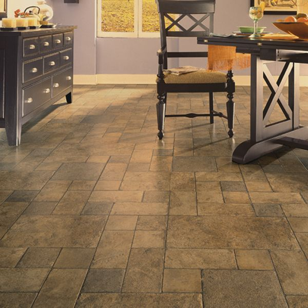 Tuscan stone bronze dupont floor designs pinterest for Nice kitchen floor tiles