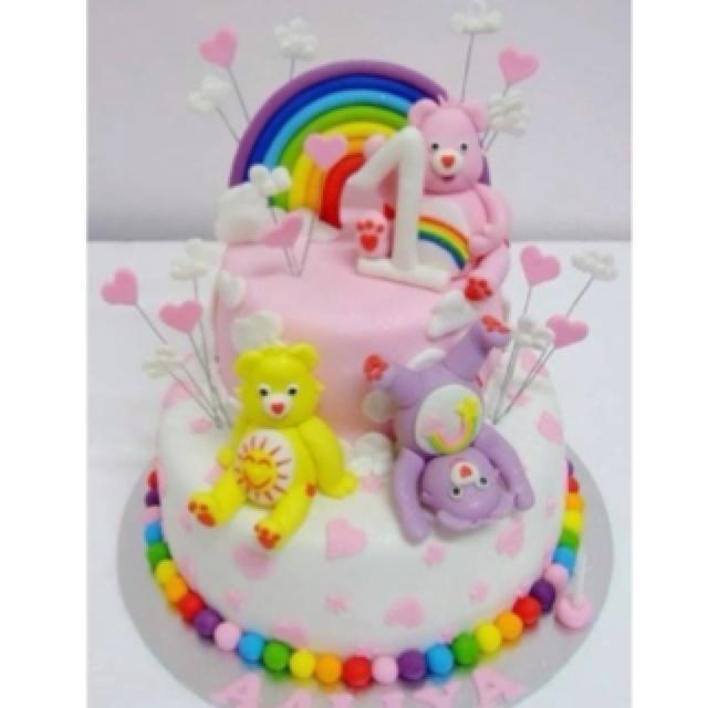 Cute Care Bear cake
