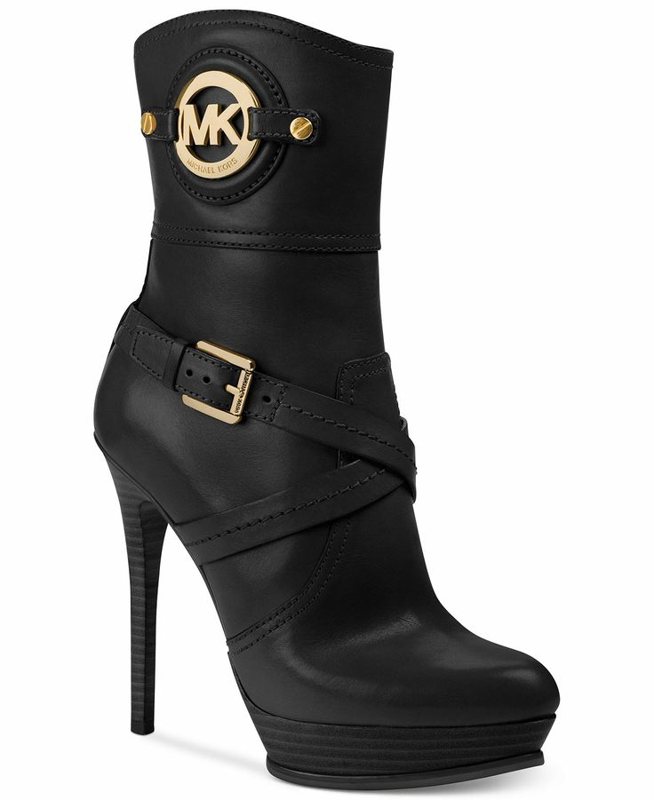 michael michael kors boots stockard booties shoes