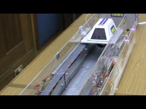 how to make a maglev train for science fair