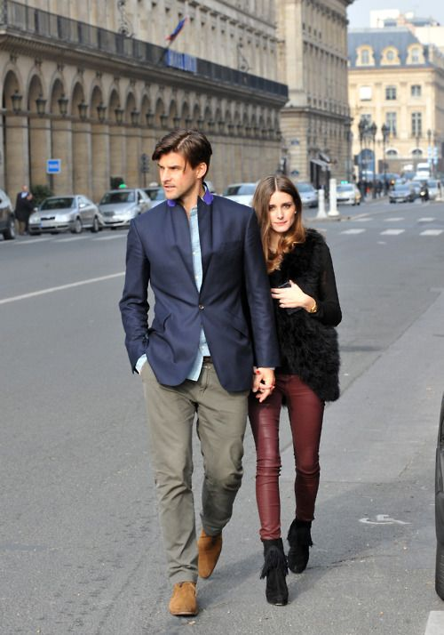 Olivia Palermo and Johannes Huebl- it's their duty to have kids and make the world a prettier place  :)