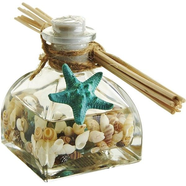 Pier 1 Imports Seashell Sea Air Reed Diffuser ($20) ❤ liked on Polyvore featuring home, home decor, home fragrance, fillers, decor, summer, diffuser, pier 1 imports, reed diffuser set and fragrance reed diffuser
