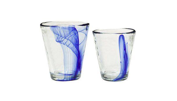 Murano Cobalt Blue Glassware Collection : Target