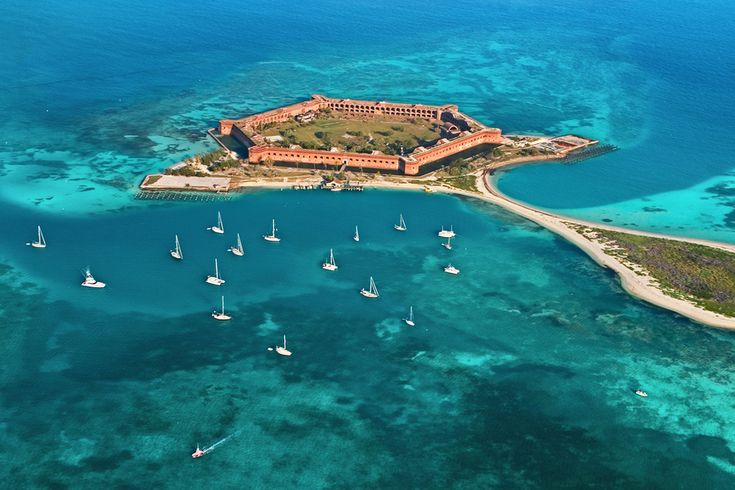 Dry Tortugas National Park, Florida | 29 Surreal Places In America You Need To Visit Before You Die