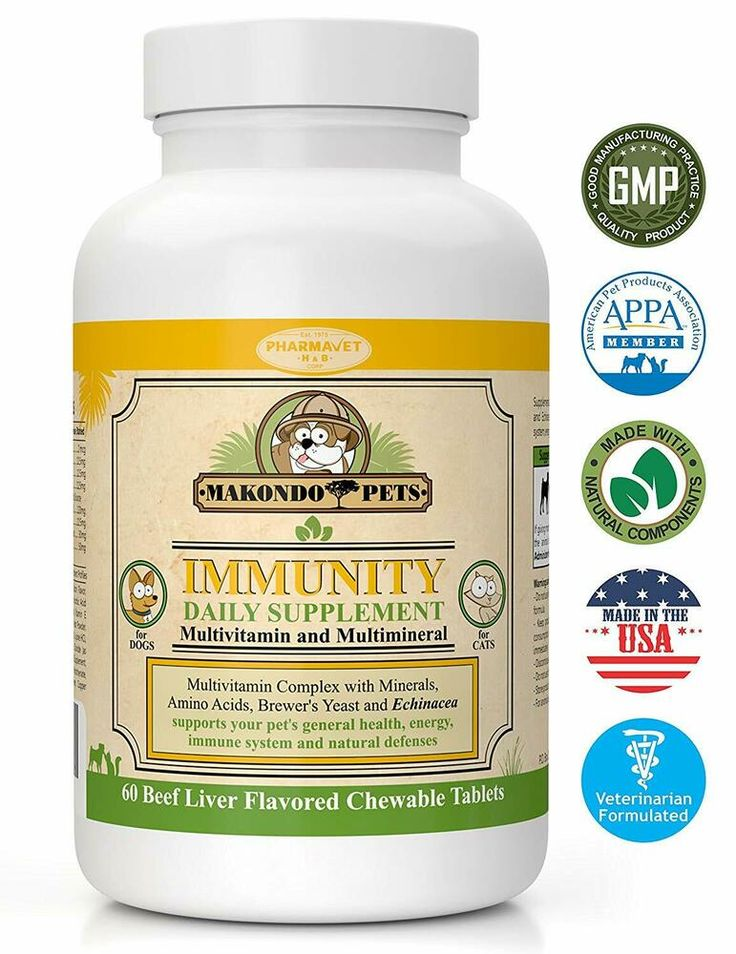 Dogs/Cats Vitamins Immune System Booster Supplements