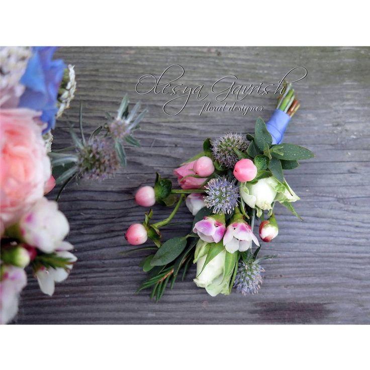 Бело-розово-голубой букет невесты с суккулентами, дельфиниумом, хлопком и пионовидными розами.  В комплекте изящный веночек и бутоньерка. | #olesyagavrishflowers #букетневесты #свадебныйбукет #wedding #weddingideas #instawedding #weddingday  #бутоньерка #buttonhole #свадебнаяфлористика #bridalbouquet #Лобня #свадьбалобня #свадьбамосква  #vscoflowers #vscocam #followme #weddinginspiration #flowerstagram #flowerslovers #flowermagic #floweroftheday #эксклюзивнаяфлористика #nevestainfo