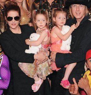 Lisa Marie Presley, Michael Lockwood, Finley and Harper Lockwood