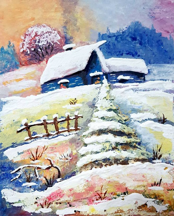 Красавица зима 02-01-2016 חורף יפהפה