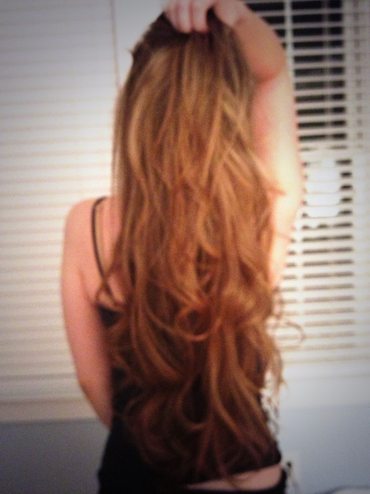 Long Hair Don't Care ! Soft waves done with the thick curling wand!