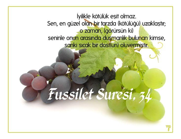 Quran, Surah Fussilet,34.Verse by gakgo on deviantART