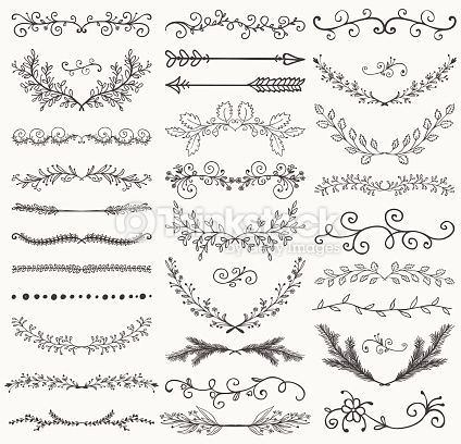 hand drawn laurel vector - Google Search
