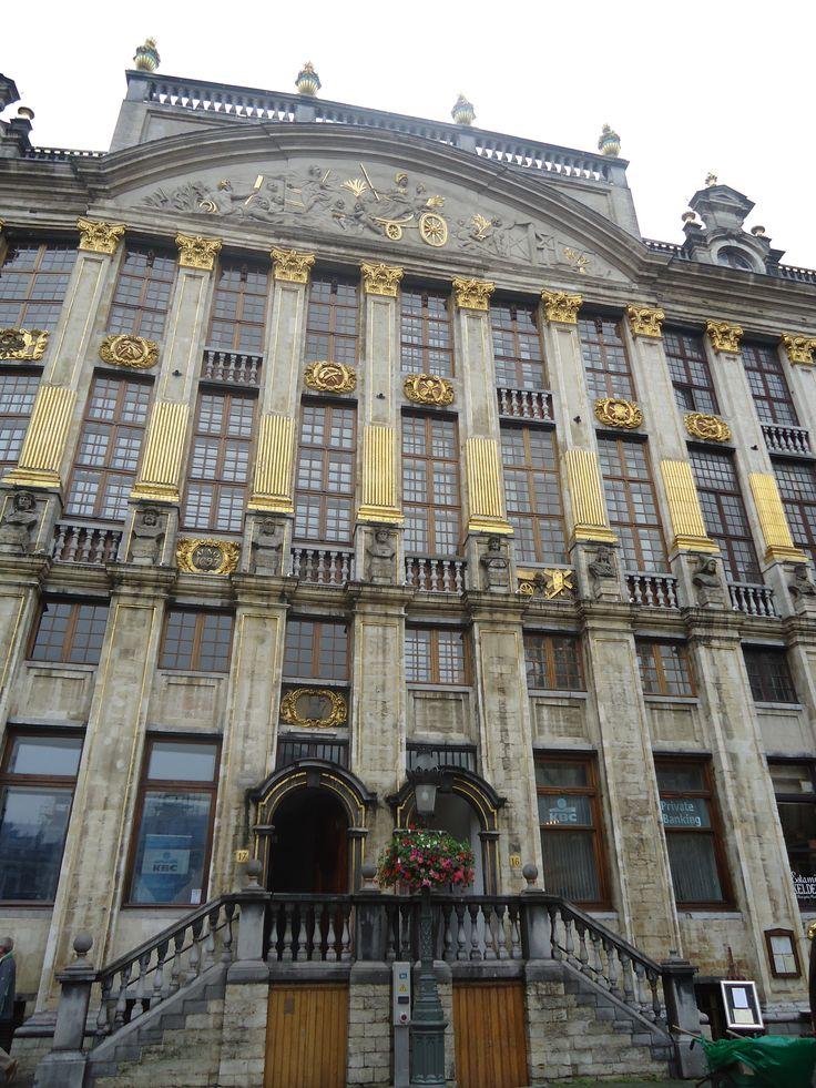 Plaza del Ayuntamiento de Bruselas.