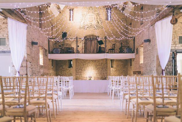 Great Tythe Barn Wedding, Tetbury - Helen & Simon