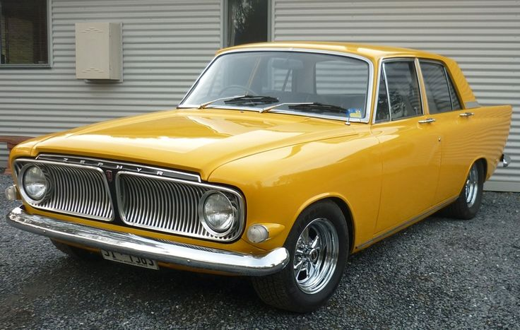 1962-1966 Ford Zodiac MK3 Sedan