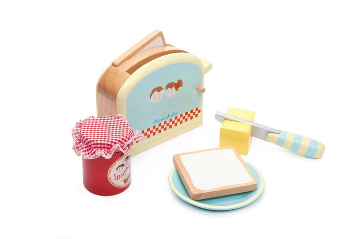 LETV287 - Honeybake Toaster Set by Le Toy Van. Distributed by Kaleidoscope.