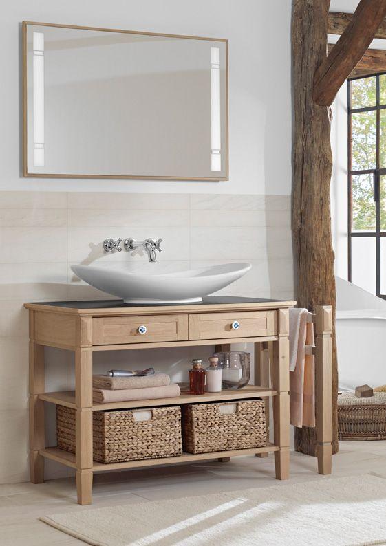 8 best meuble de salle de bain avec panier images on Pinterest ...