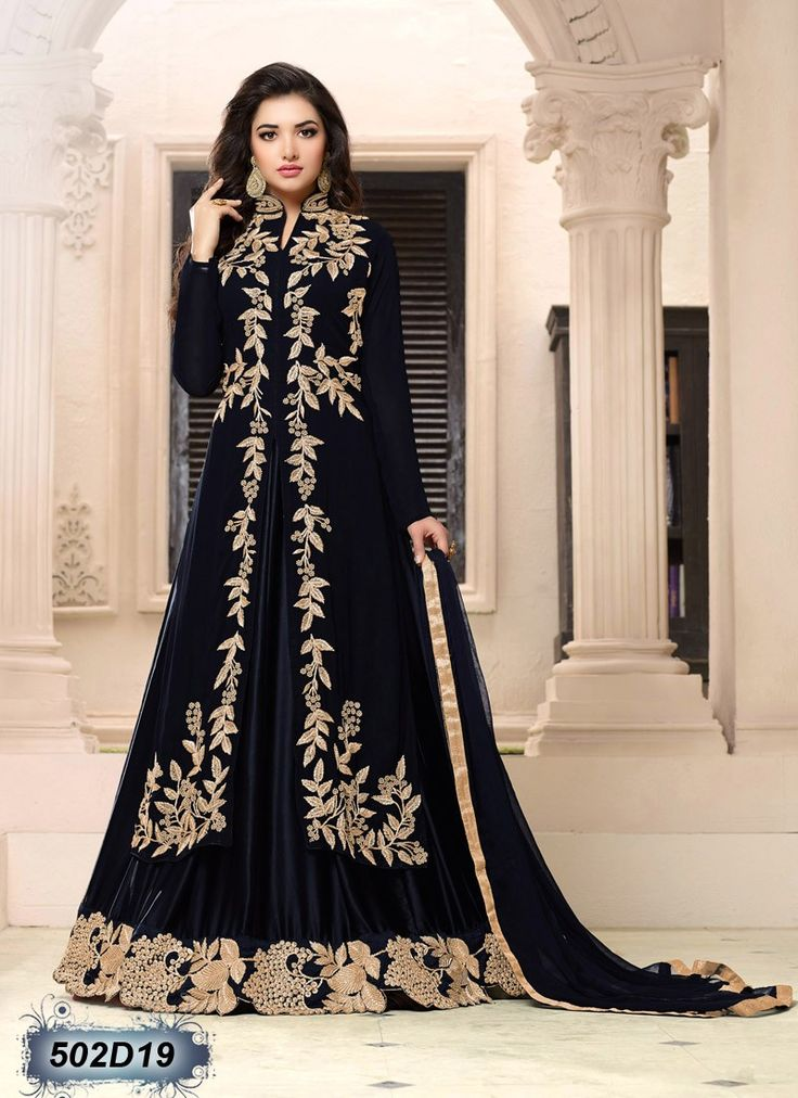 Buy Black Colored Net & Georgette Semi-Stitched Designer Salwar Suit Get 30% Off on Designer Salwar Suits From Leemboodi Fashion with Free Shipping in INDIA Use Coupon Code: RAKHI15 to Get 15% off on Every Product of Leemboodi Fashion Now Available on Cash On Delivery