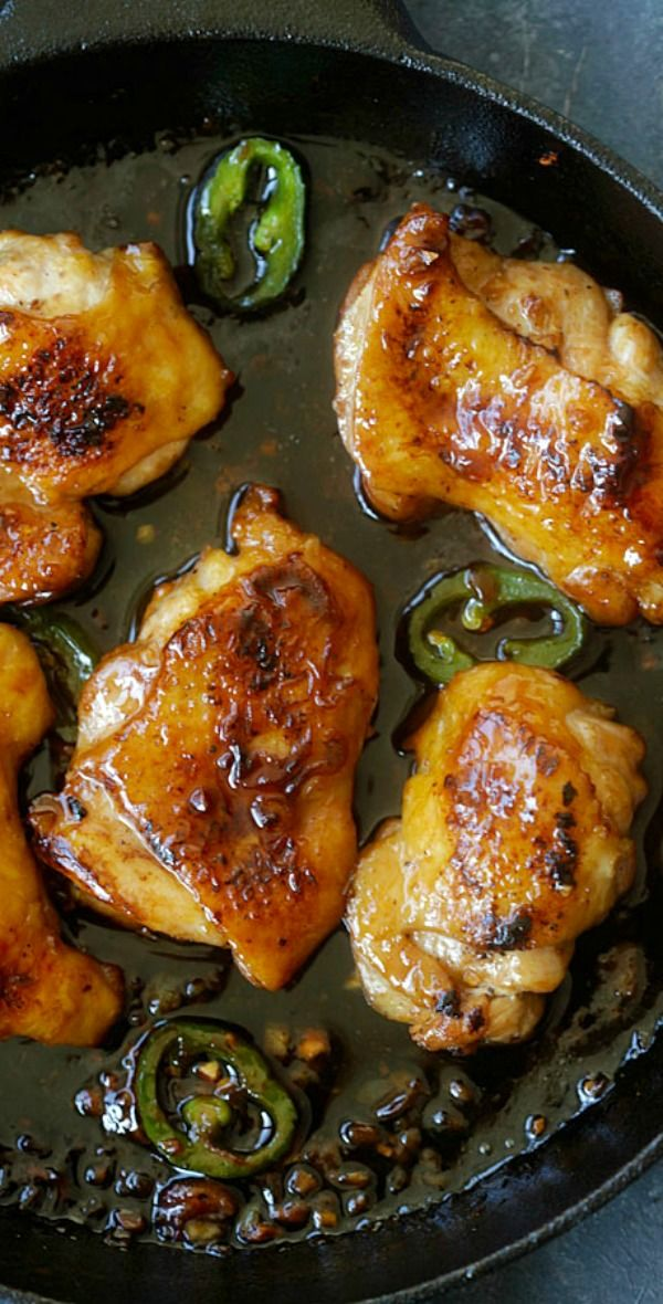 Caramel chicken – the easiest and most delicious Asian chicken dish ever with caramel sauce. Ready in 20 mins! | rasamalaysia.com