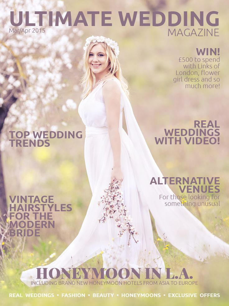 The gorgeous March/April 2015 issue is now available to download to your iPad/iPhone or Android device. Exclusive editorial, competitions, tap to buy and video content! http://bit.ly/uwmmarapr2015 #wedding #weddingmagazine #bridal