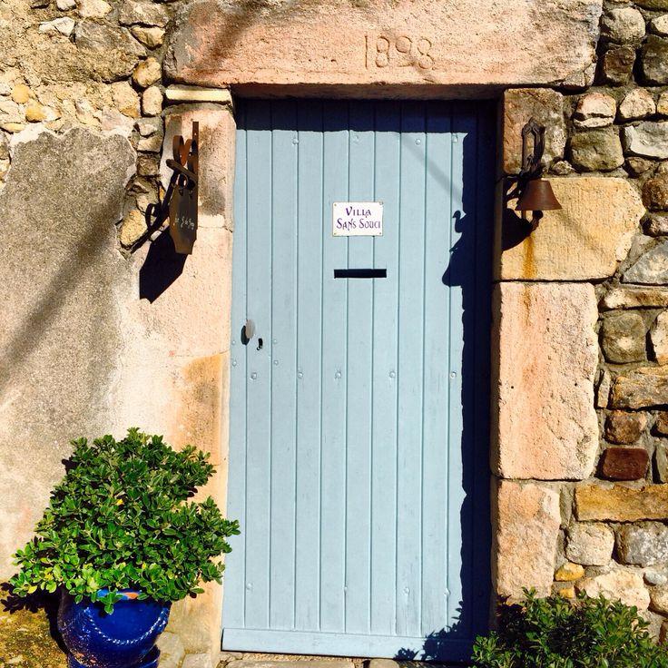 Poort van het huis van pa en ma #largentiere #frankrijk