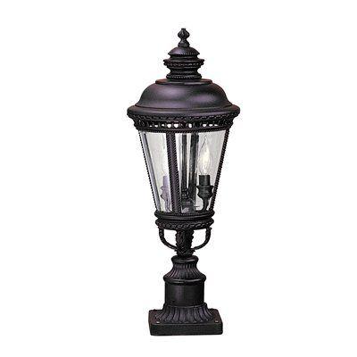 Feiss OL190 Castle Post Mount Light
