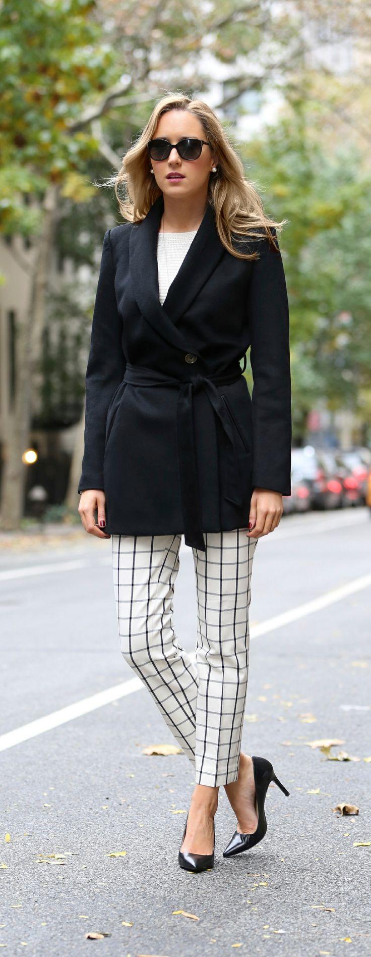 The Classy Cubicle: Ivory {windowpane cropped pants, banana republic, ann taylor, tart collections, ralph lauren, gorjana, work wear, office fashion}