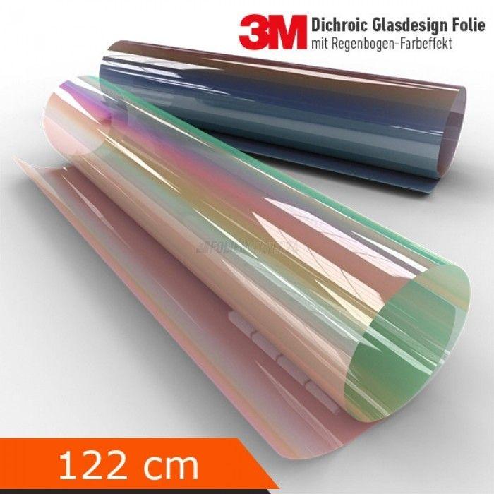 3m Dichroic Df Pa Glasdesign Folie 122cm Farbeffekt Fensterfolie