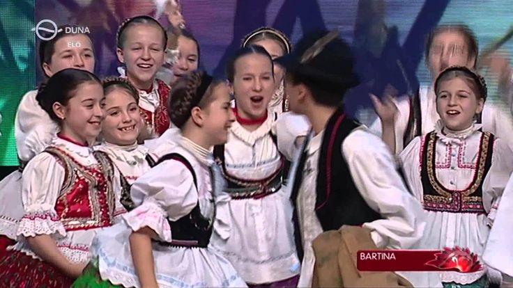 Fölszállott a páva 2015. dec. 18. döntő Bartina Néptáncegyüttes