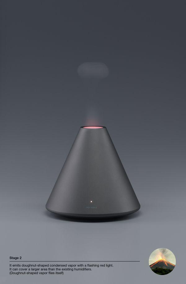 Volcano Series / Humidifier on Behance