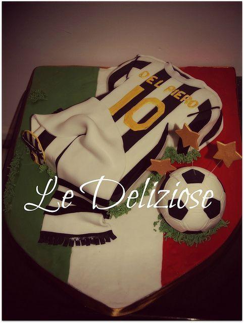 Bolo Juventus | Flickr - Compartilhamento de fotos! por Jeanette