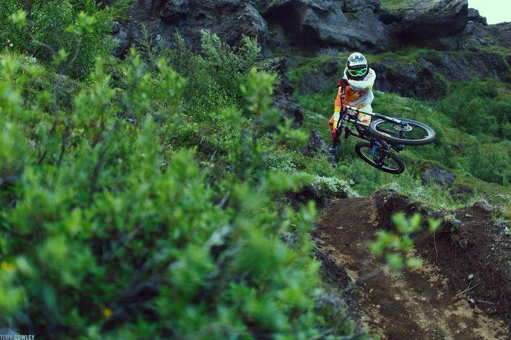 Into the dirt of Iceland, Mountainbike Freeride