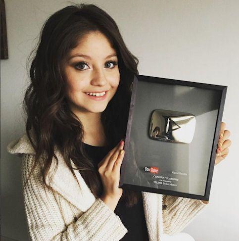 Karol Sevilla récompensée par Youtube