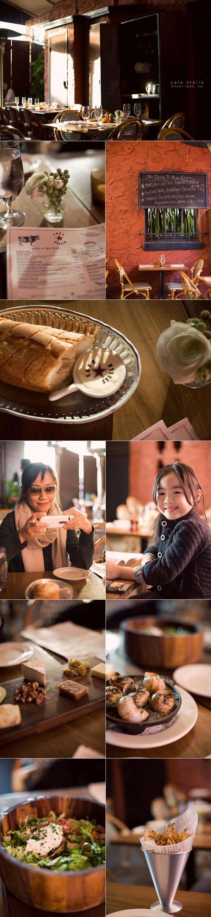 Dinner alfresco at Cafe Stella.     CALI TRIPPING // cafe stella, los angeles // photography bonnie tsang #splendidsummer