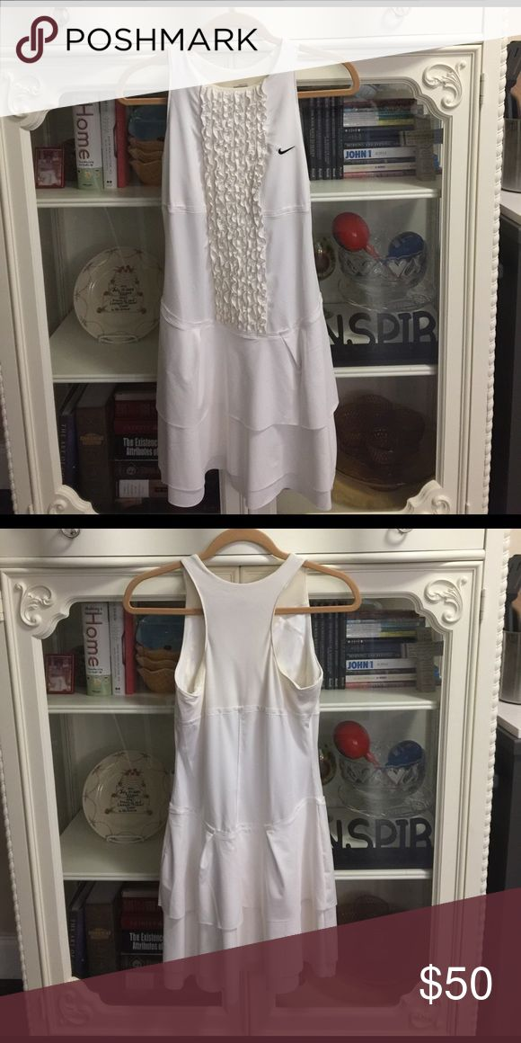 Nike Tennis Dress Maria Sharapova Wimbledon White Tennis Dress. Super soft material and in great condition. Nike Dresses
