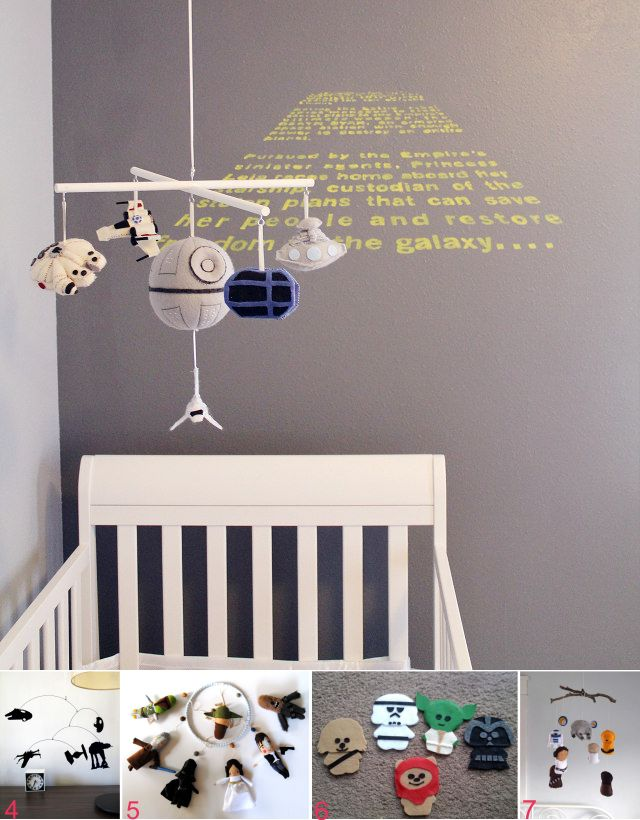 DIY Star Wars Nursery