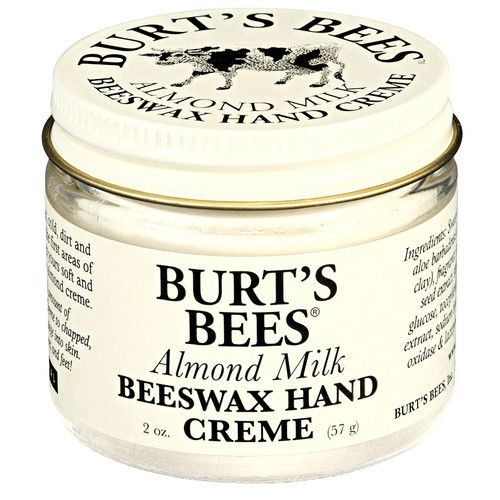 Burt's Bees Almond Milk Beeswax Hand Creme...the best for dry hands!