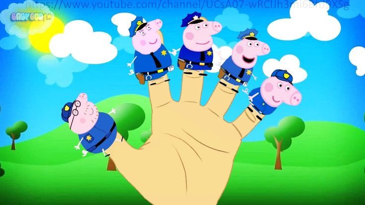 Policeman Finger Family #Nursery Rhymes Lyrics and more
