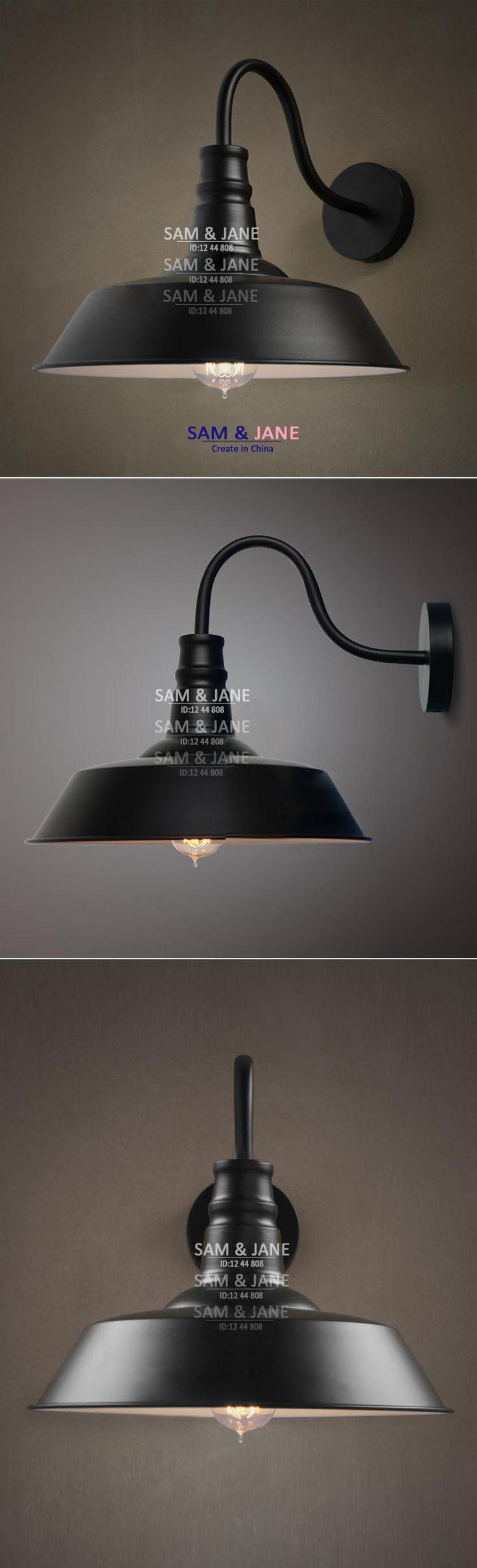 36cm Jahrgang großküche wandlampe eisen wandleuchte Glanz Zimmer moderne beleuchtung in von auf Aliexpress.com