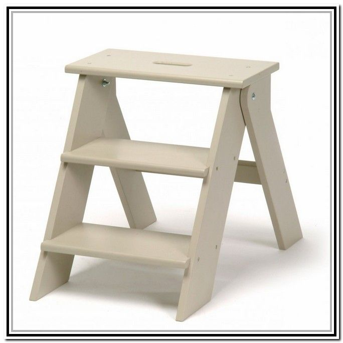 folding step stool plans free benches kitchen step stool wooden steps stool chair. Black Bedroom Furniture Sets. Home Design Ideas