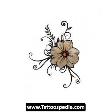 17 best images about tattoos on pinterest girly tattoos for Single flower tattoo