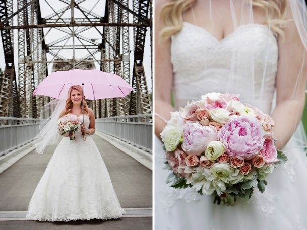 Wedding Obsession Feature . Chelsea & Stavros . Bergmann's on Lombard . Real wedding by Divine Weddings & Events . Pretty Pink Vintage Wedding   http://www.weddingobsession.com/2013/11/29/pretty-pink-wedding-winnipeg/