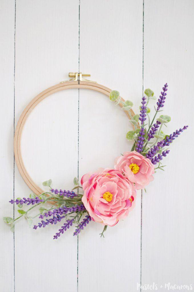 Lavender Wreath DIY Tutorial : 10 Minute Craft Idea