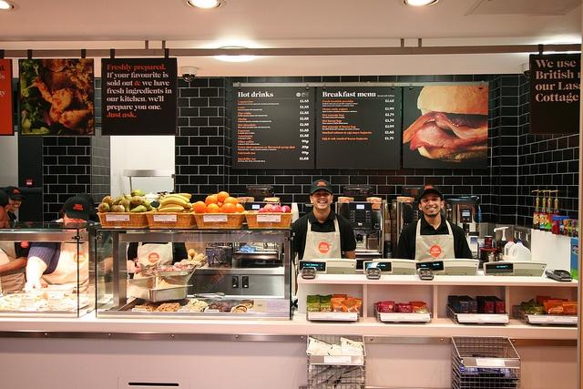 Friendly Fresh Kitchen colleagues by J Sainsbury, via Flickr