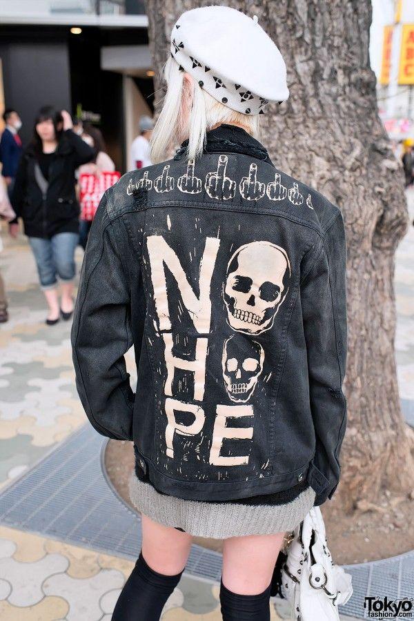 """Unif """"No Hope"""" Jacket in Harajuku"""